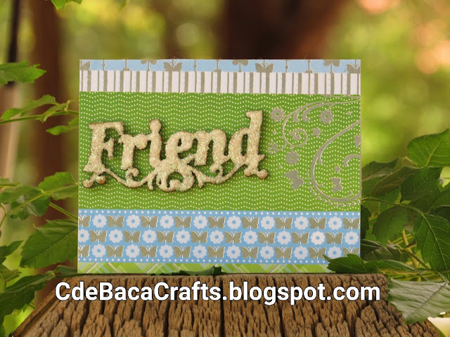 Beautiful Handmade Cards for Friends by CdeBaca Crafts Blogger.
