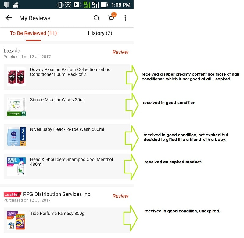 product reviews, Lazada Philippines, Lazada App review, Lazada online shopping review,