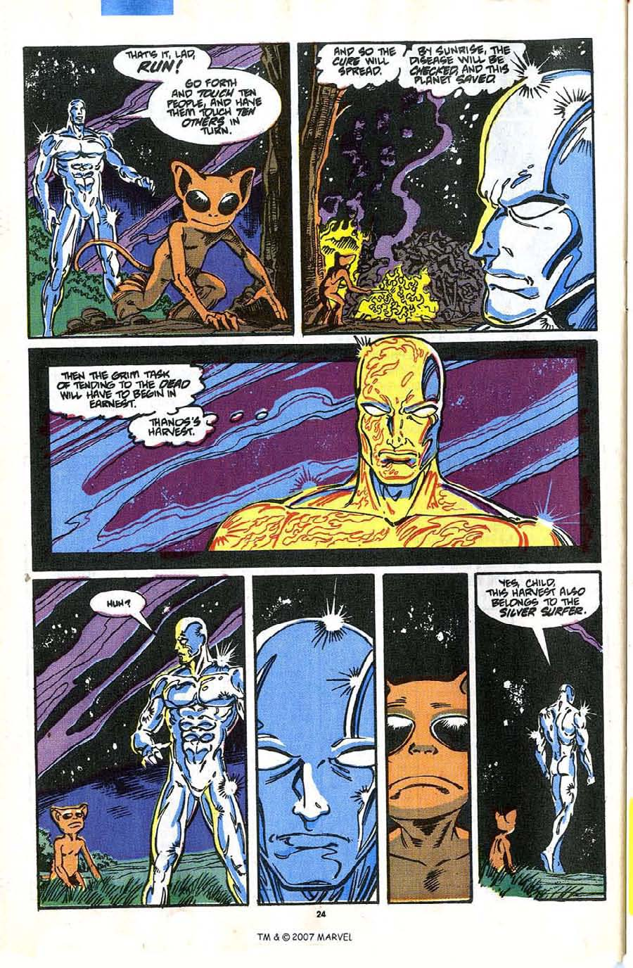Read online Silver Surfer (1987) comic -  Issue #35 - 26