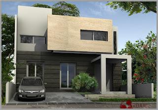 contoh rumah minimalis tampak depan 2