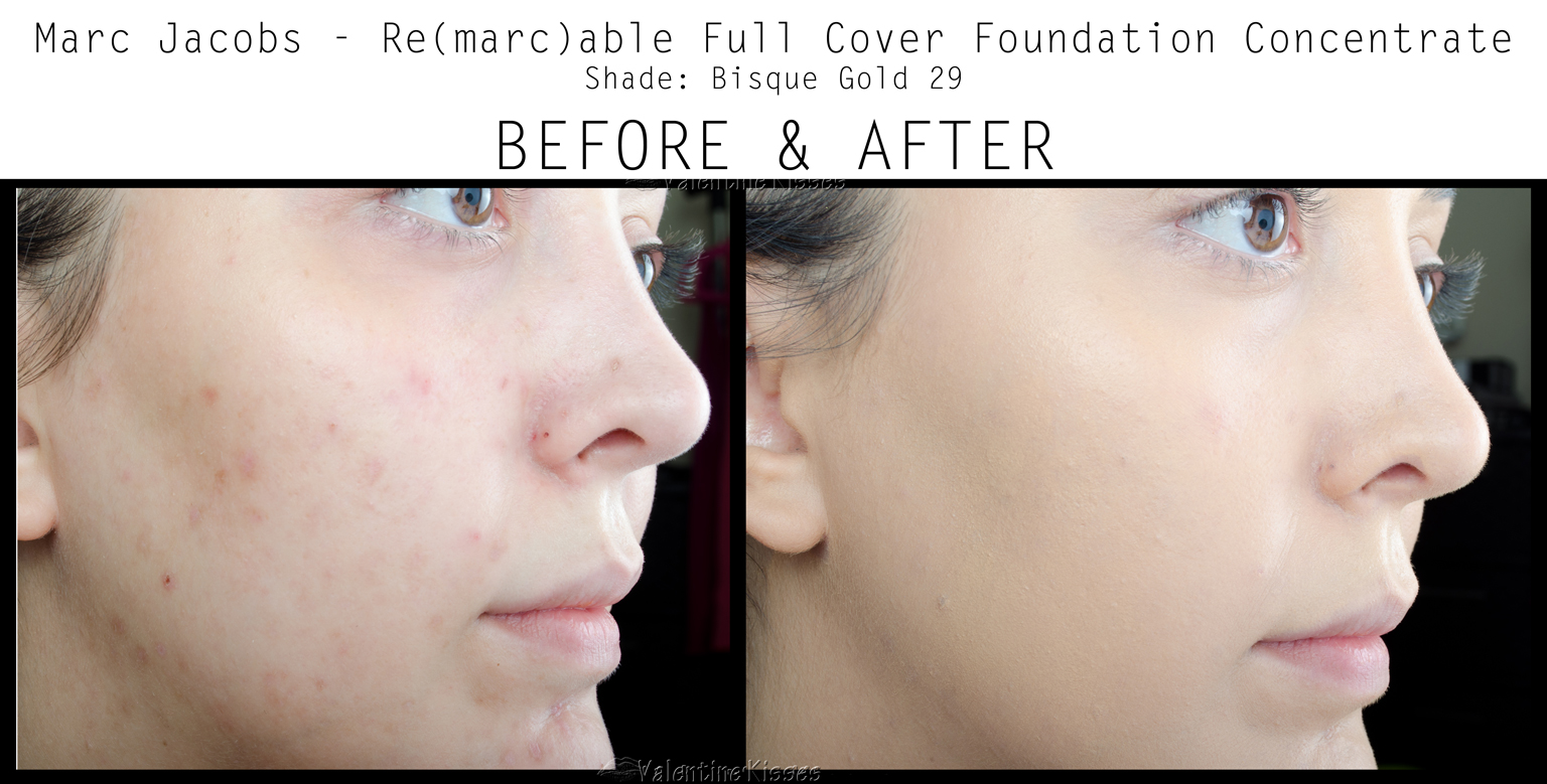 How To Apply Marc Jacobs Foundation Remarcable Anexa Tutorial