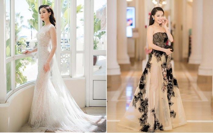 Hoa hậu Mỹ Linh, Nhã Phương 'đọ' sắc với váy áo yêu kiều tại Cannes