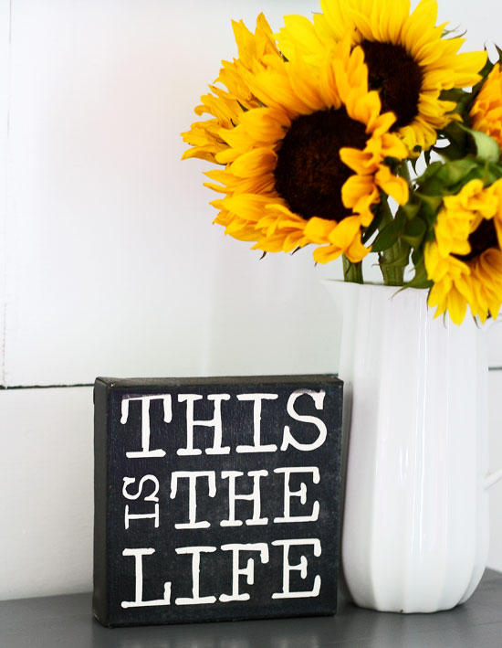 This is the life canvas
