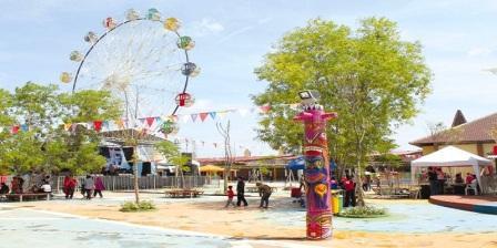 Rita Park, Wisata Baru di Tegal Banyak Wahana Permainan Yang Bisa Anda Coba disini