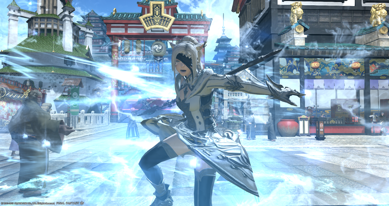 Eorzea Database: Omega Coat of Healing | FINAL FANTASY XIV, The
