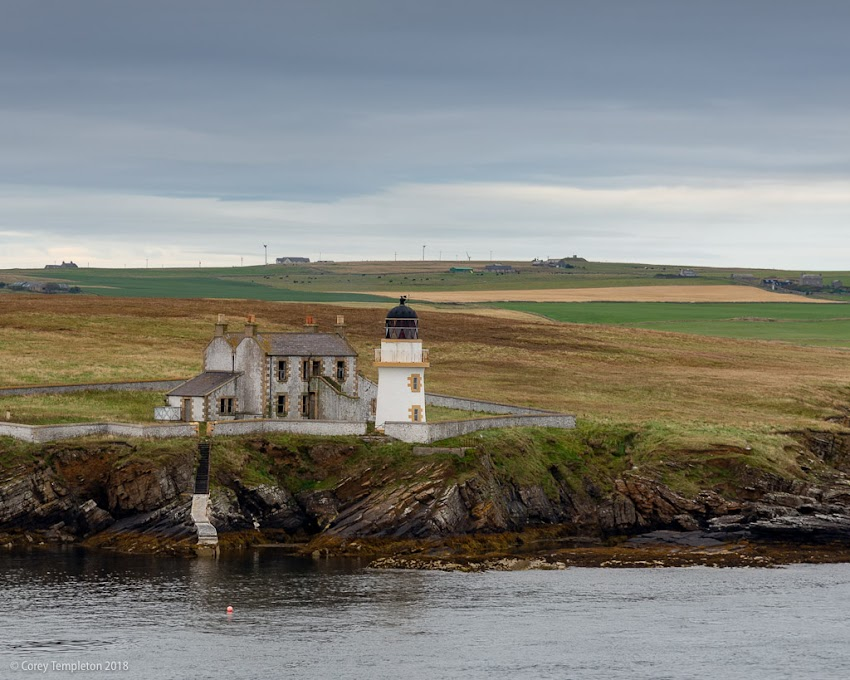 Photo by Corey Templeton. Thursday throwback to the interesting Helliar Holm Lighthouse in Scotland's Orkney Islands. This particular lighthouse is on a small uninhabited island near Kirkwall. From September 2018.