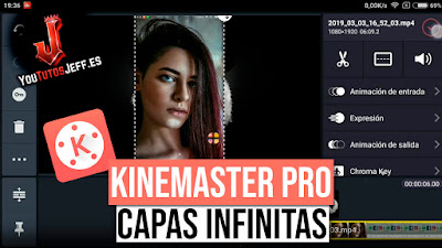Descargar KineMaster Pro Ultima Version 2019 - Capas de Video Ilimitadas