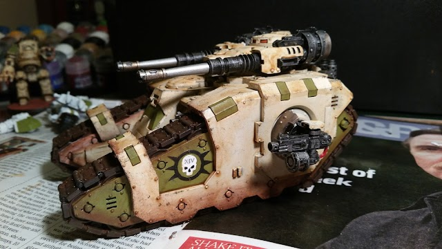 What's On Your Table: Death Guard Sicaran