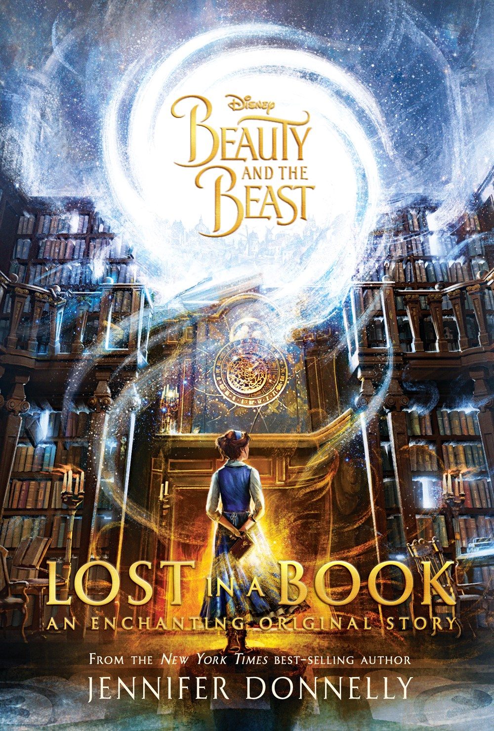 17 Beauty And The Beast: Lost In A Book By Jennifer Donnelly  Isbn13: 9781484780985 Publisher: Disney Press; Dlx Edition