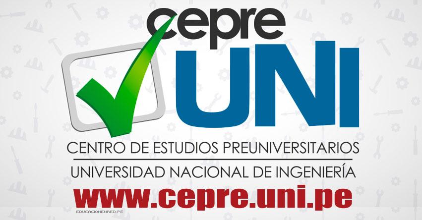 Resultados CEPRE-UNI 2019-2 (Domingo 14 Julio) Lista de Aprobados - Séptima Prueba Calificada Centro Preuniversitario - Universidad Nacional de Ingeniería - www.cepre.uni.pe | www.uni.edu.pe