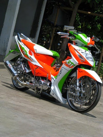 Modifikasi New Honda Revo Ceper