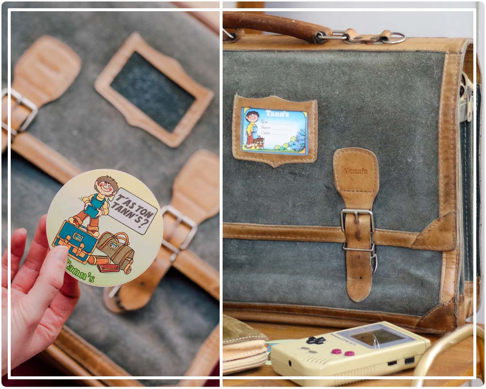 Cartable Tann's vintage