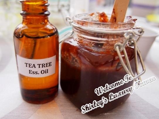 petronille scrub tea tree oil bellabox