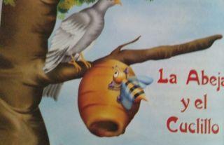 Cuento para leer: La abeja y el cuclillo