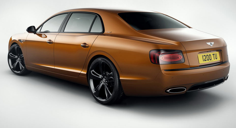 Bentley reveals Flying Spur W12 S