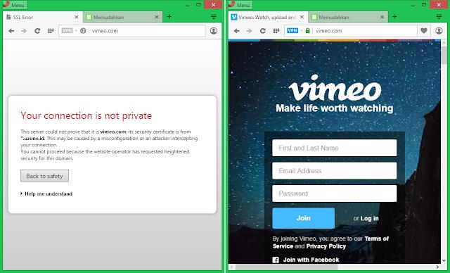 Cara buka Vimeo VPN