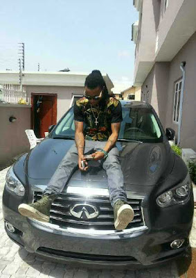 Solidstar 2013 Infinity jx35 1 EXCLUSIVE PHOTOS OF ALL NIGERIAN CELEBRITIES WHO ACQUIRED NEW CARS IN 2013