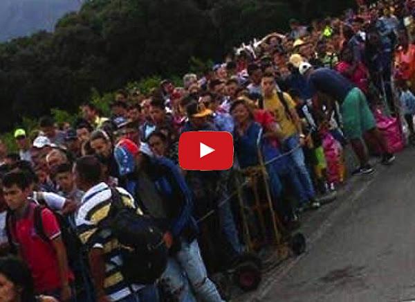 20.000 venezolanos huyeron por la frontera con Colombia