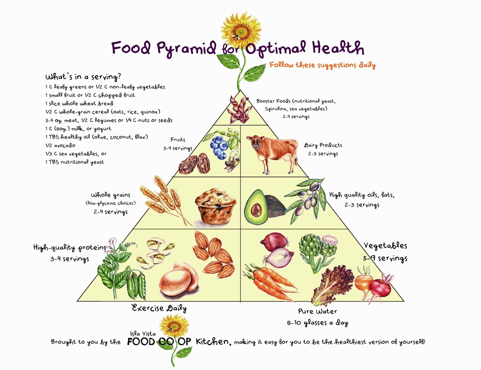 New Food Pyramid Worksheet