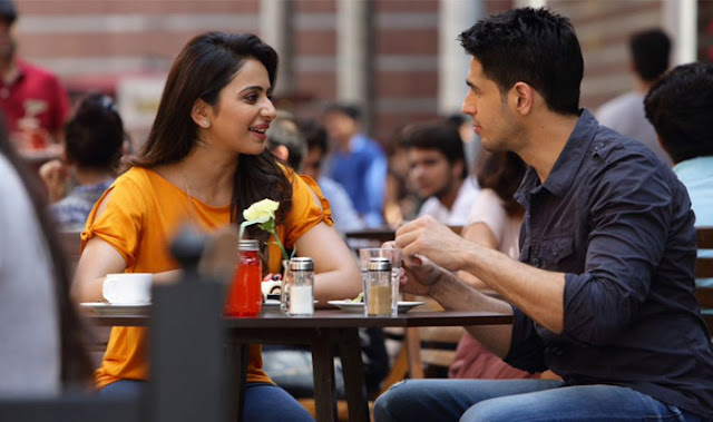 Rakul Preet Singh and Sidharth Malhotra in Aiyaary