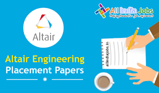 Altair Engineering Placement Papers