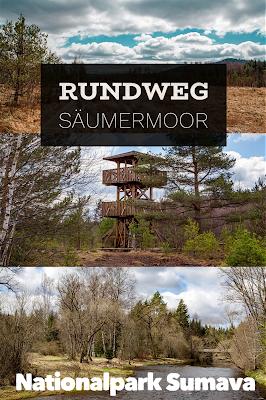 Rundweg im Säumermoor - Soumarské rašeliniště | Wandern im tschechischen Böhmerwald | Nationalpark Sumava | Soumarský Most | Wandern Šumava