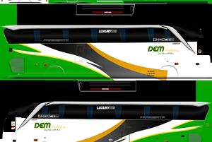 Livery Skin Bus Simulator Indonesia (BUSSID) Terbaik Dari Berbagai Sumber