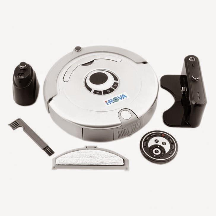 I Rova Robotic Vacuum Cleaner Xr210 Silver