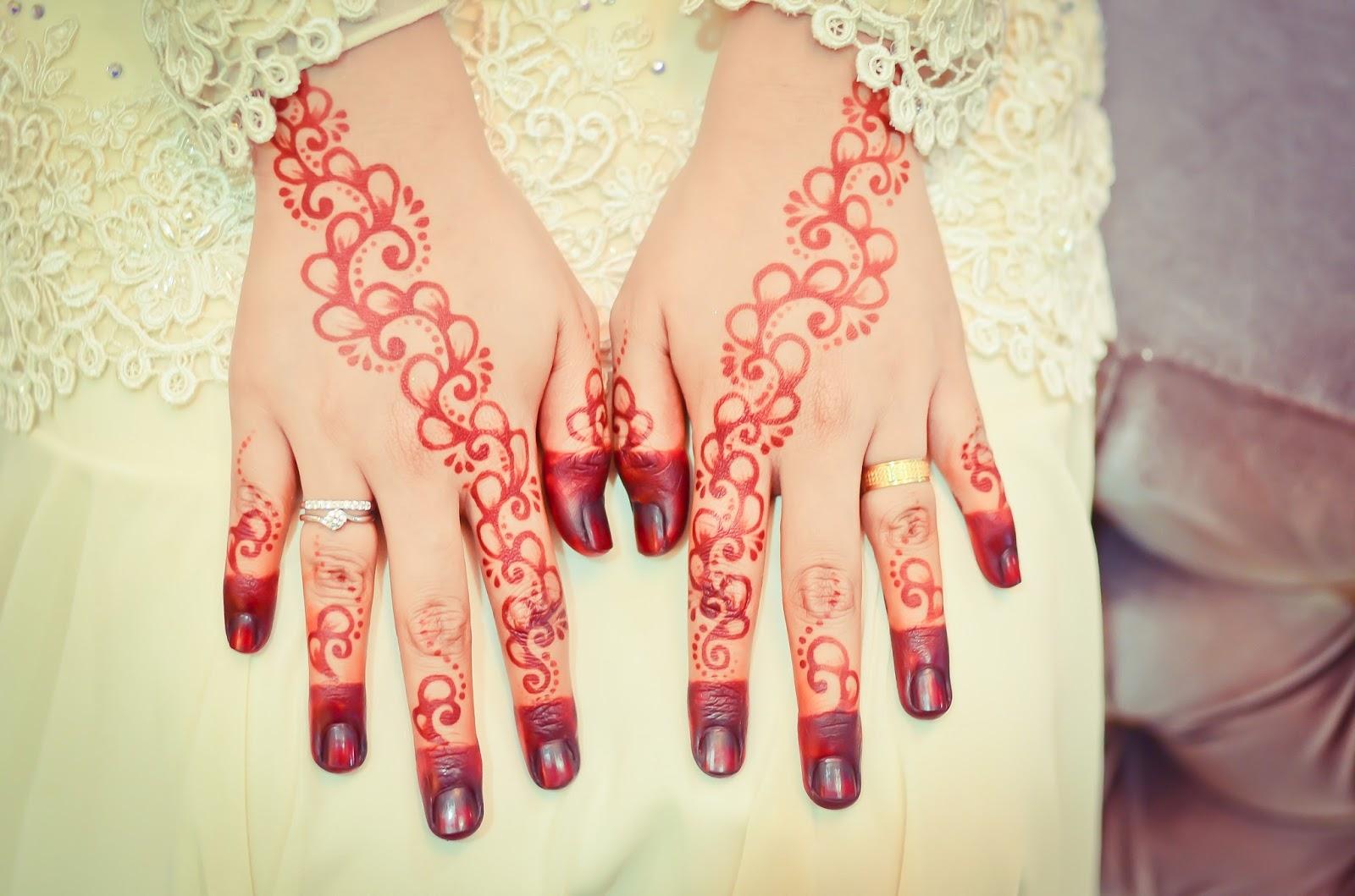 Gambar Henna Nikah Balehenna