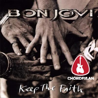 Lirik dan Chord Kunci Gitar Bed Of Roses - Bon Jovi