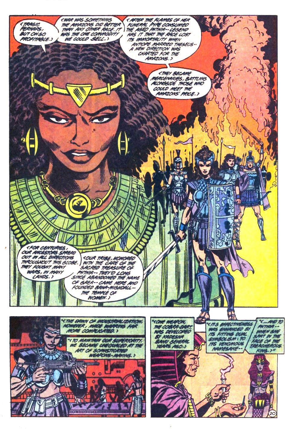 Read online Wonder Woman (1987) comic -  Issue #33 - 21