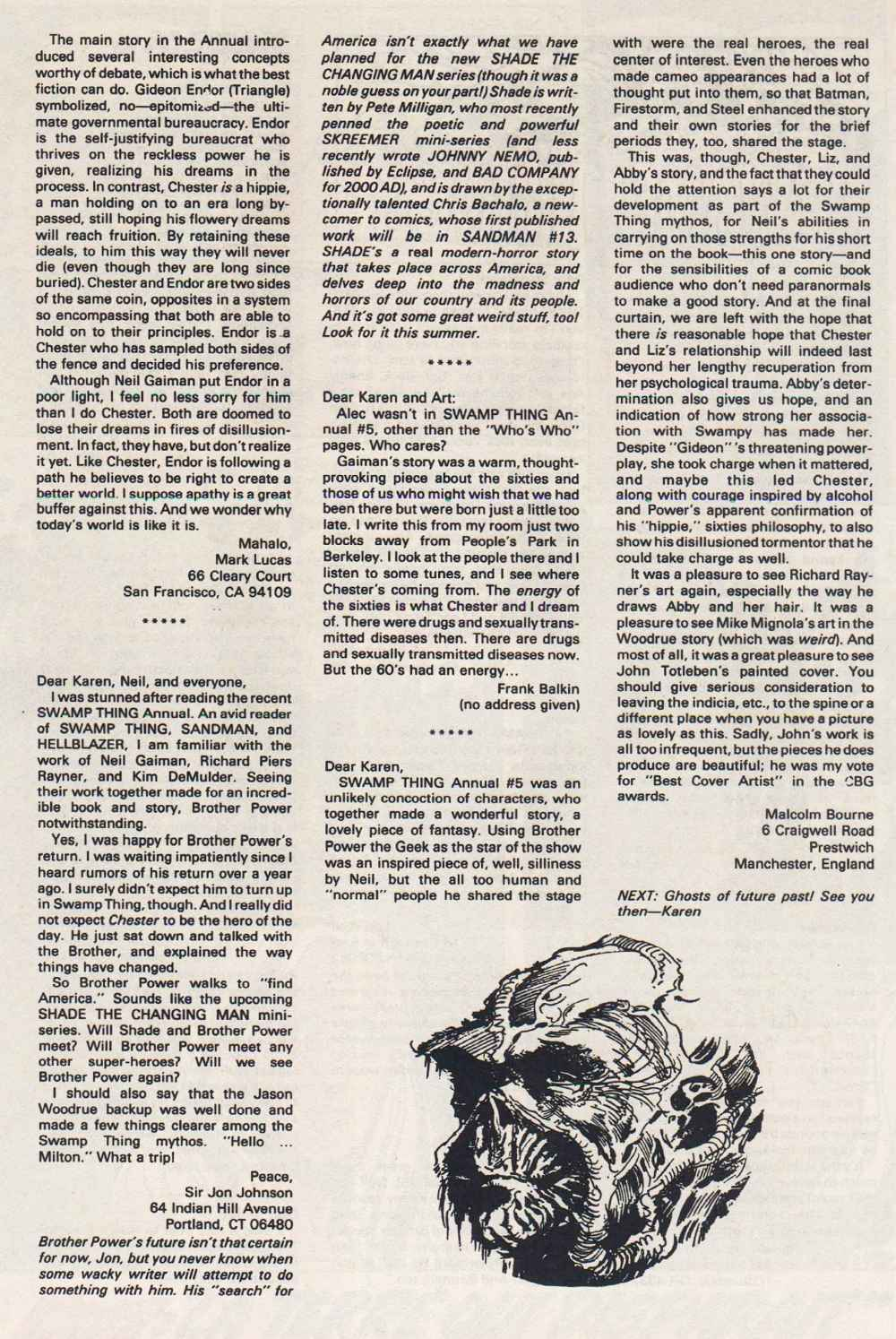 Swamp Thing (1982) Issue #91 #99 - English 25