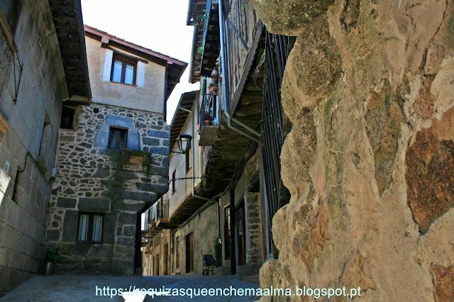 Ruas medievais de Miranda del Castañar