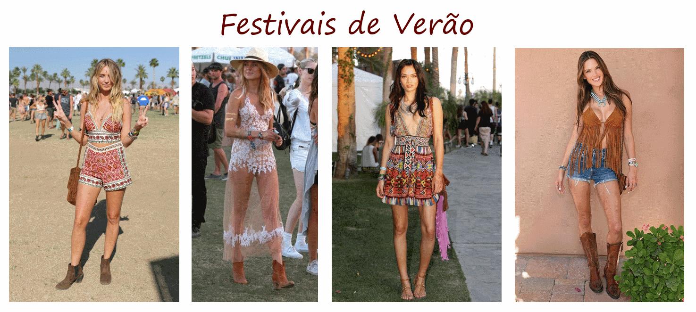 d3bf0272d Vida de Mulher aos 40: Looks Festivais de Verão