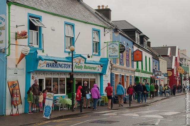 Dingle pueblo calles Irlanda Condado de Kerry