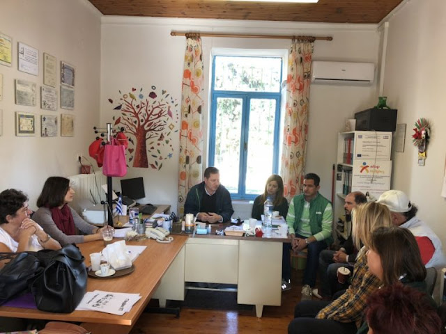 Το 6θέσιο Δημοτικό Σχολείο Σκαφιδακίου επισκέφθηκε ο Διευθυντής Πρωτοβάθμιας Εκπαίδευσης Αργολίδας