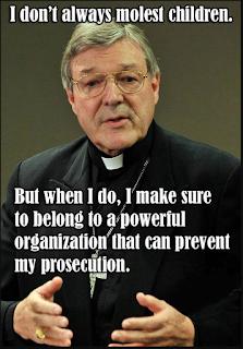 Cardinal George Pell Sex Abuse meme