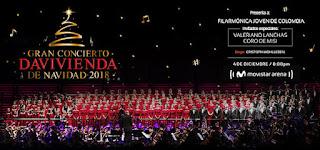 Gran Concierto DAVIVIENDA de Navidad 2018 1