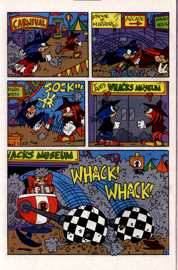 Read online Sonic The Hedgehog comic -  Issue #127 - 21