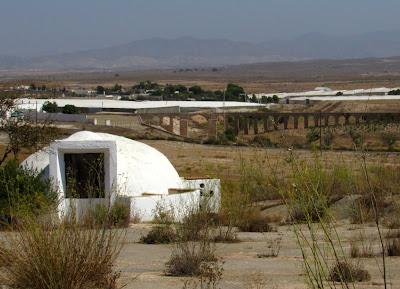 Aljibe en Fernán Pérez. Aljibe blanco. Aljibes de Cabo de Gata