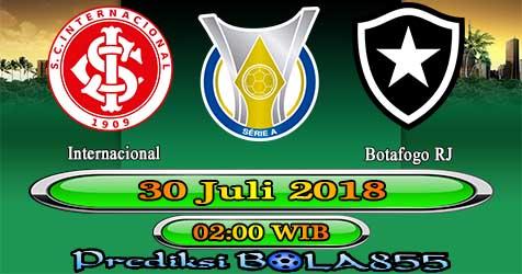 Prediksi Bola855 Internacional vs Botafogo RJ 30 Juli 2018