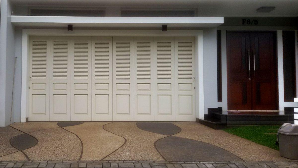 10 desain pintu lipat minimalis terbaru