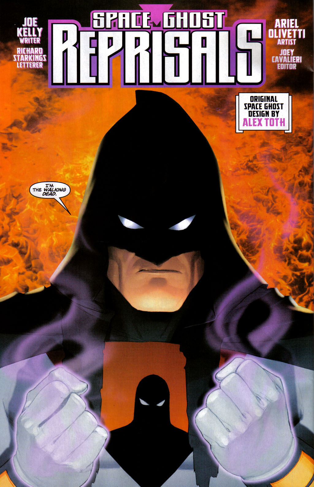 Read online Space Ghost (2005) comic -  Issue #3 - 5