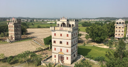Kaiping, China: Two Days Exploring Diaolous