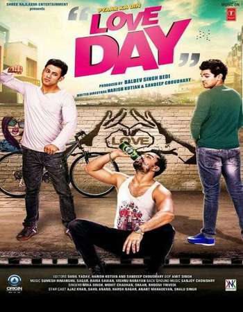Poster Of Love Day Pyaar Ka Din 2016 Hindi 720p HDRip x264 Watch Online Free Download downloadhub.in