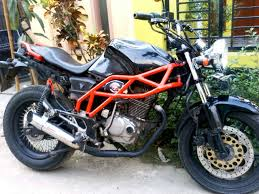 Modifikasi Motor Tiger 2000 Touring