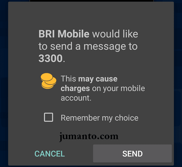 cek saldo bank bri lewat mobile banking