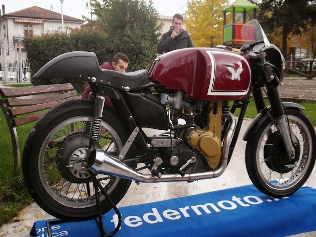 Matchless G50 1950s British MotoGP bike