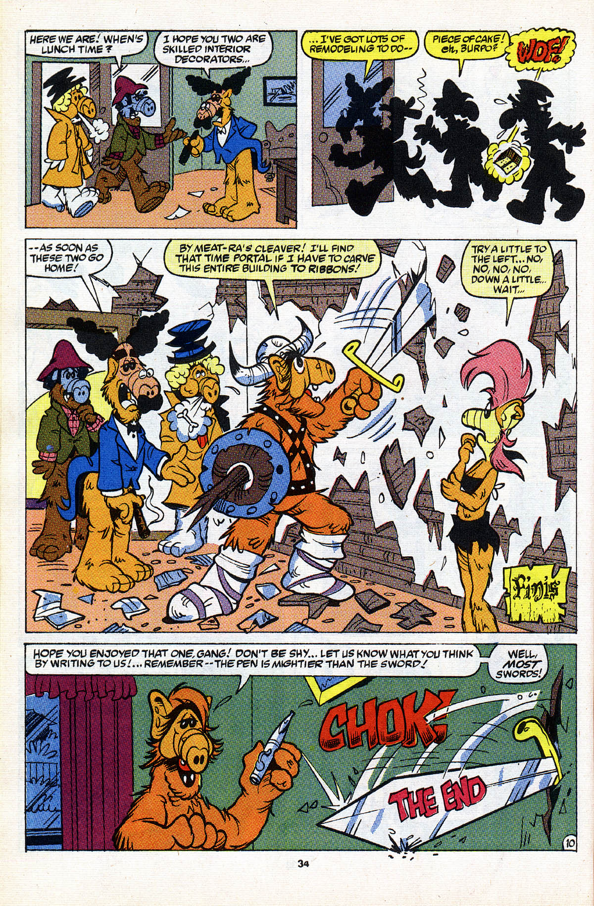 Read online ALF comic -  Issue #2 - 35