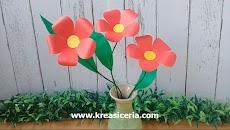 Cara Paling Mudah Membuat Bunga dari Kertas untuk Tugas Kerajinan
